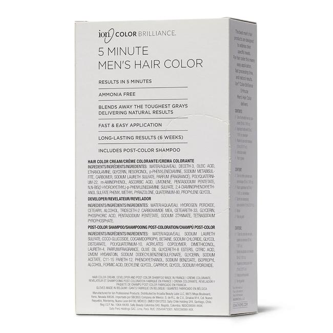Dark Brown 5 Minute Hair Color