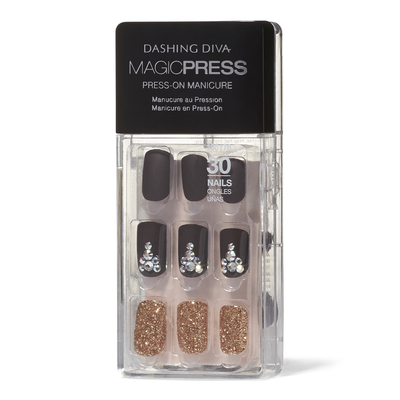 Magic Press on Nails Toast of the Town