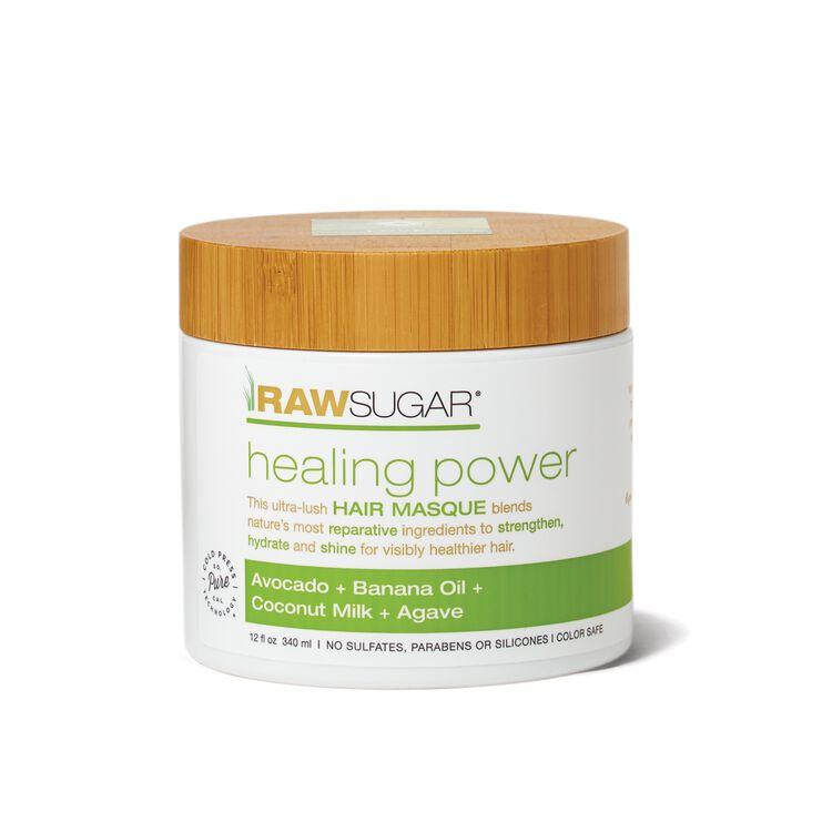 Healing Power Hair Masque - Avocado + Banana Oil + Coconut Milk + Agave