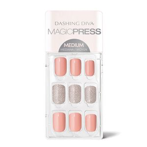 Magic Press on Nails Coral Reef - Medium