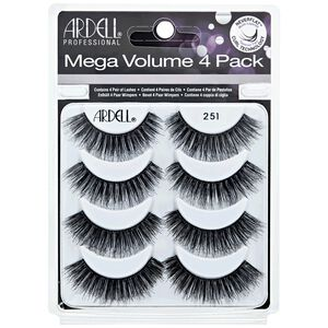 Mega Volume #251 Lashes 4 Pack