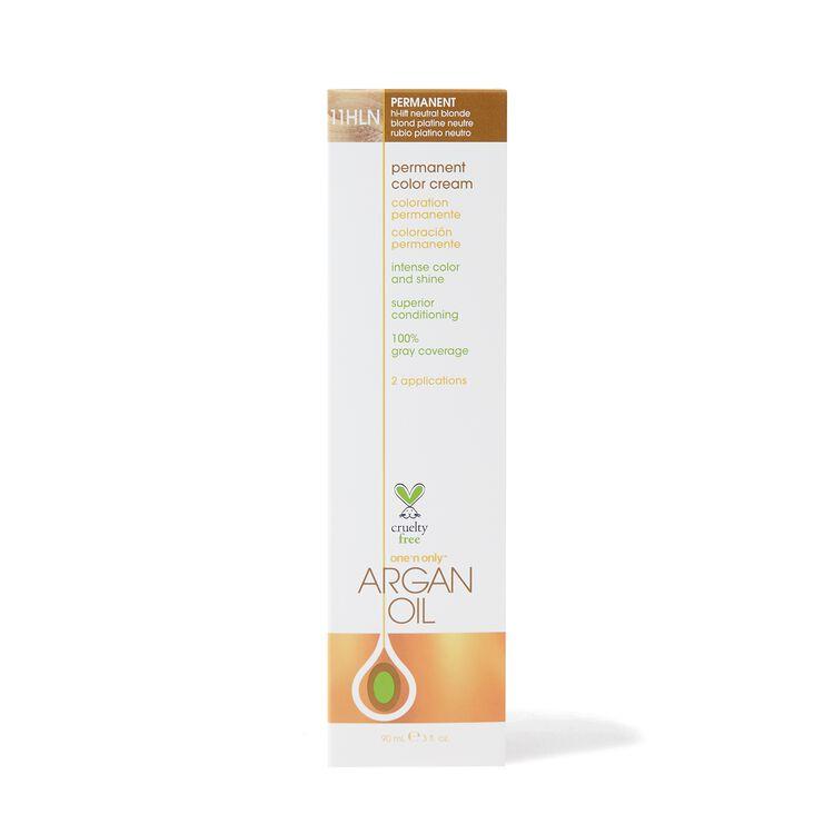 Argan Oil Permanent Color Cream 11HLN Hi Lift Neutral Blonde
