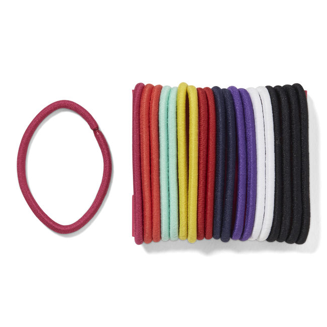 No Crimper Thick Elastics Multi 20 Count