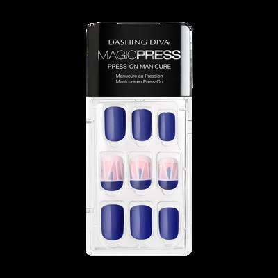 True Blue Press On Nail Kit