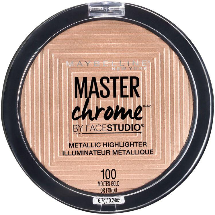 Face Studio Master Chrome Metallic Highlighter Molten Gold