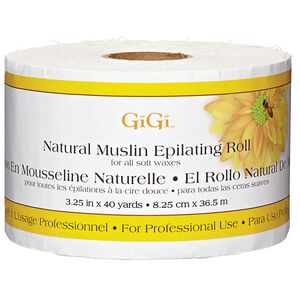 Natural Muslin Epilating Roll