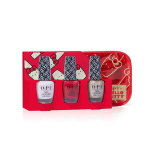 Hello Kitty by OPI Collection Trio with Limited Edition Bag
