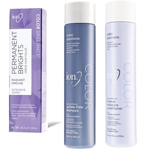 Buy 2 Ion Permanent Brights Creme Hair Colors and Get 30% off Ion Hair Care