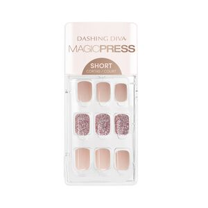 Magic Press on Nails Honey Sparkle - Short