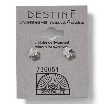 Destine Flower 5mm Earrings