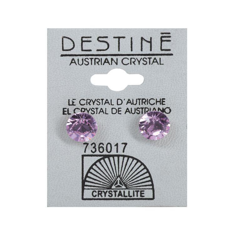 Destine 8mm Diamond Cut Earrings