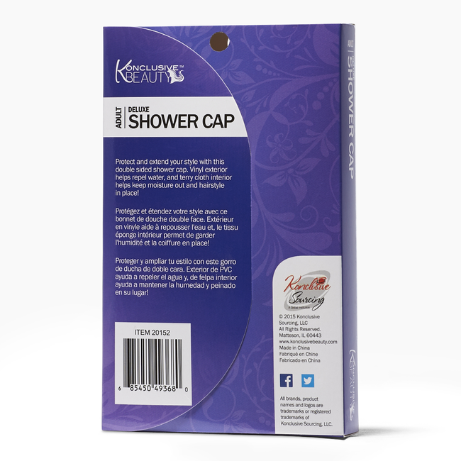 Deluxe Shower Cap