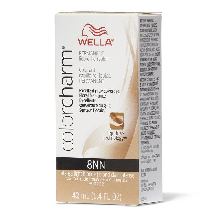 8NN Light Intense Neutral Blonde Permanent Liquid Hair Color
