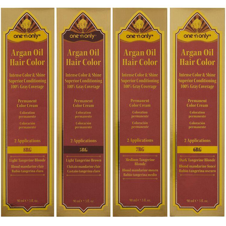 Permanent Color Hair Cream Tangerine Series