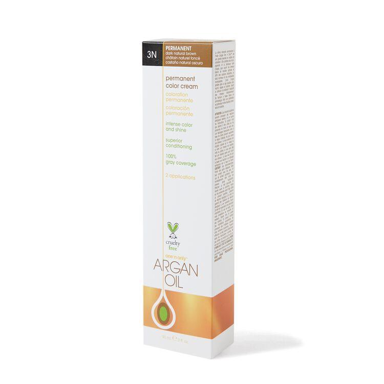 Argan Oil Permanent Color Cream 3N Dark Natural Brown