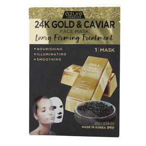 24K Gold & Caviar Sheet Mask