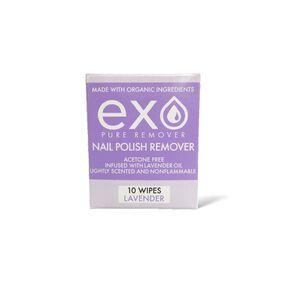 Pure Nail Polish Remover Lavender Scent Wipes
