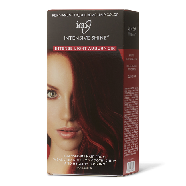 Intensive Shine Hair Color Kit Intense Light Auburn 5IR