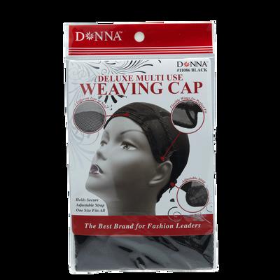 Black Multi Use Weaving Cap