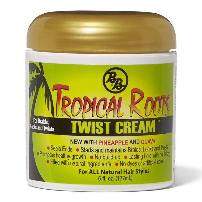 Tropical Roots Twist Cream