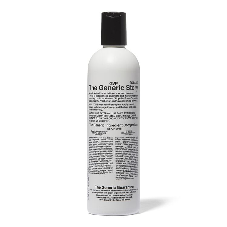 Gentle Moisture Shampoo Compare to It's a 10 Miracle Moisture Shampoo