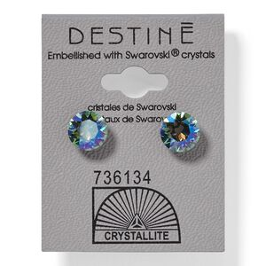 Aqua Aura Diamond Earrings