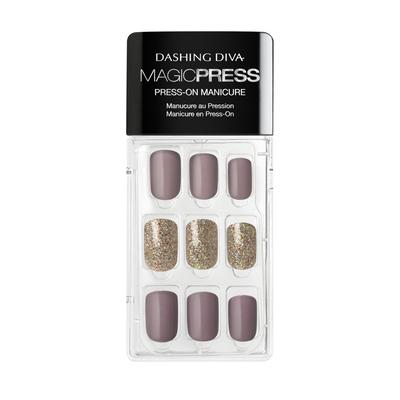 Magic Press on Nails Mauvelous