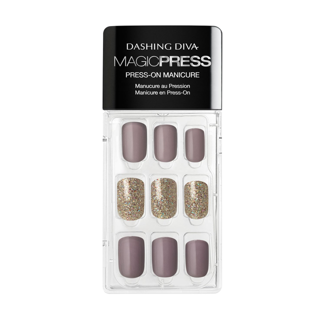 Magic Press on Nails Mauvelous
