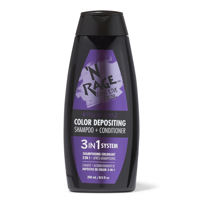 3 In 1 Color Depositing Shampoo & Conditioner N triging Purple