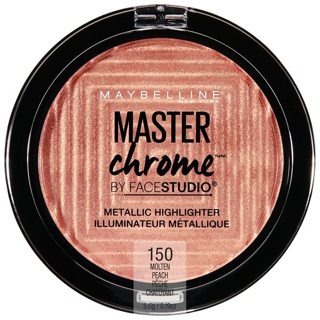 Face Studio Master Chrome Metallic Highlighter Molten Peach