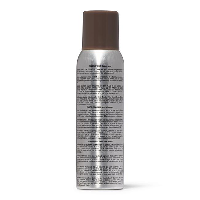 Burnt Brown Temporary Color Highlight Spray