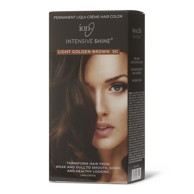 Intensive Shine Hair Color Kit Light Golden Brown 5G