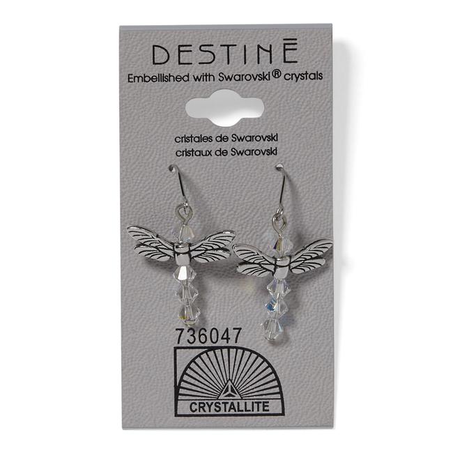 Destine Dragonfly Dangle Earrings