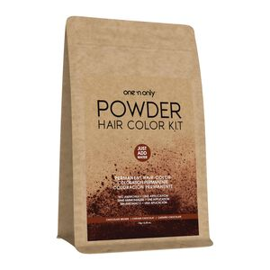 Powder Permanent Hair Color Kit Chocolate Brown