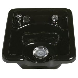 Beta Acrylic Shampoo Bowl 2800 Black