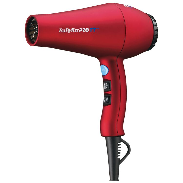 Tourmaline Titanium Red Dryer