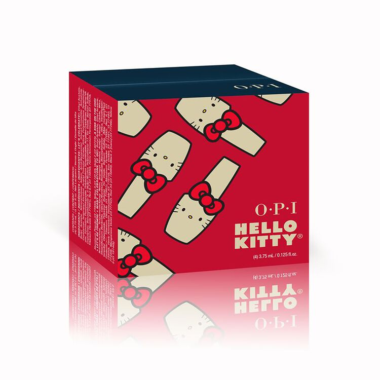 Hello Kitty by OPI Collection 4 Piece Mini Gift Set