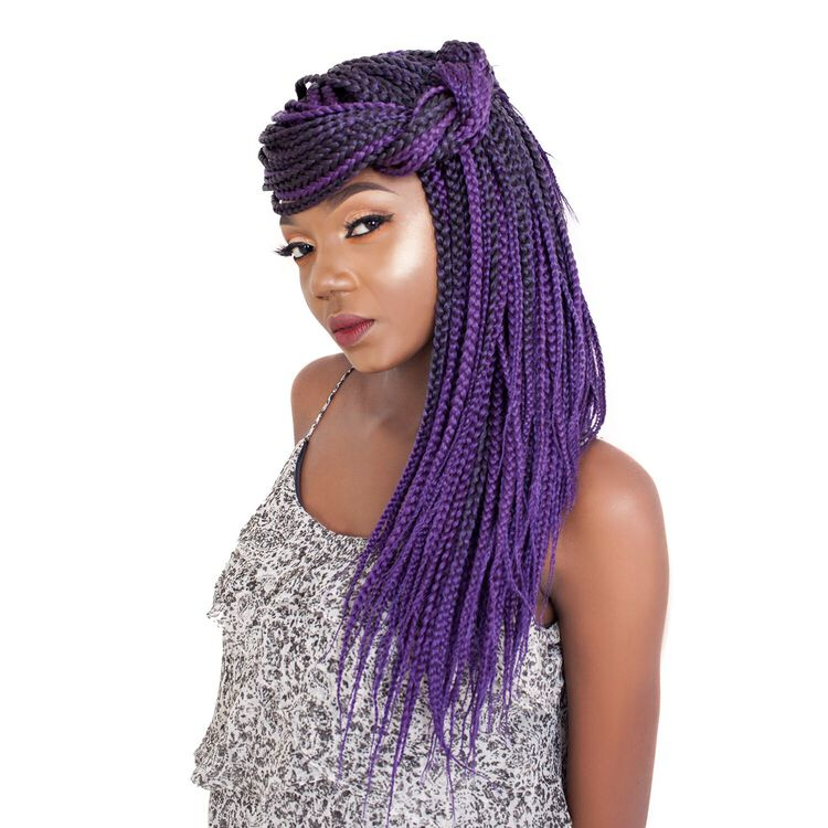 3X Box Braids 18 Inch Crochet Hair