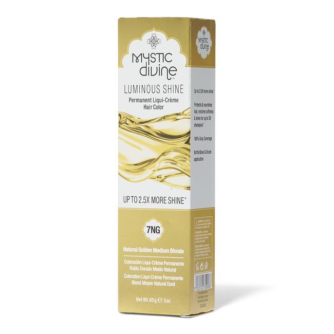7NG Natural Golden Medium Blonde Liqui-Creme Permanent Hair Color