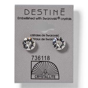 Destine Double Diamond Cut Earrings