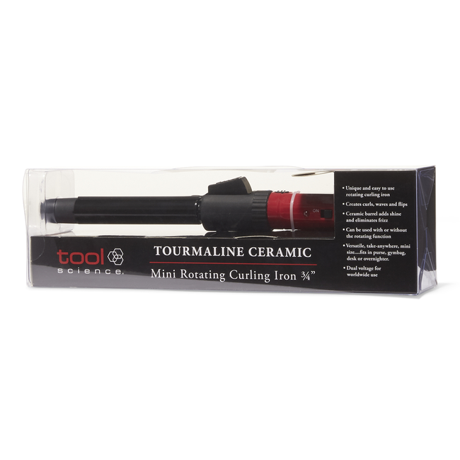 Rotating Travel Curling Iron