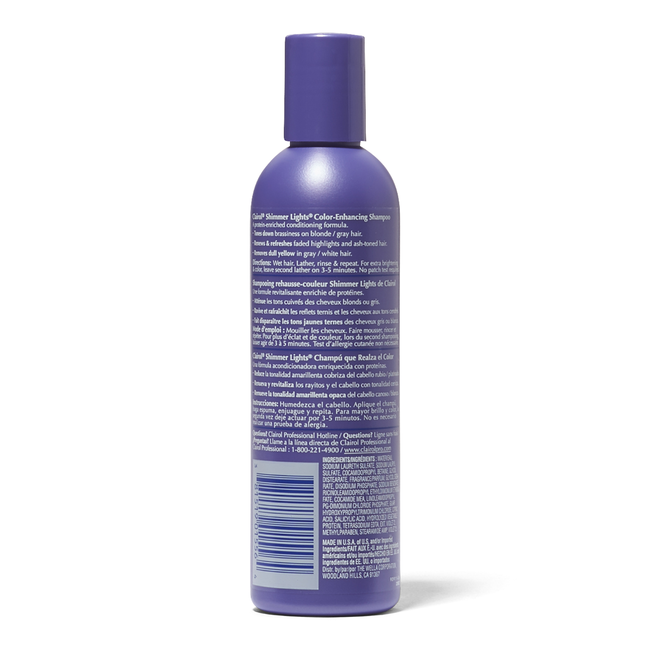 Shimmer Lights Conditioning Shampoo For Blonde & Silver 8