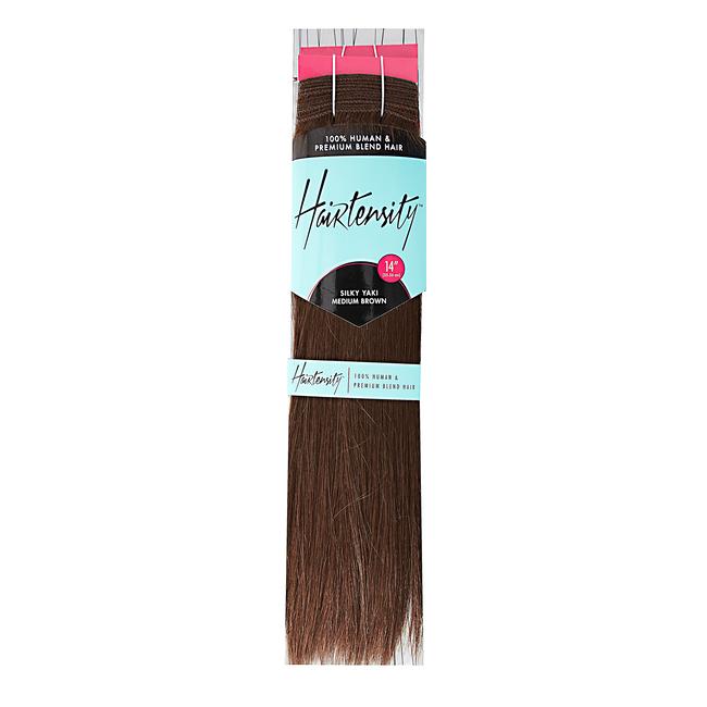 14 Inch Human & Premium Blend Hair