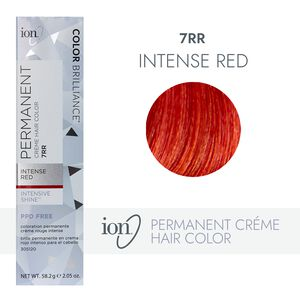 7RR Intense Red Permanent Creme Hair Color