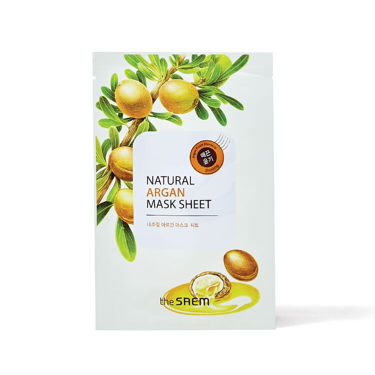 Natural Argan Sheet Mask