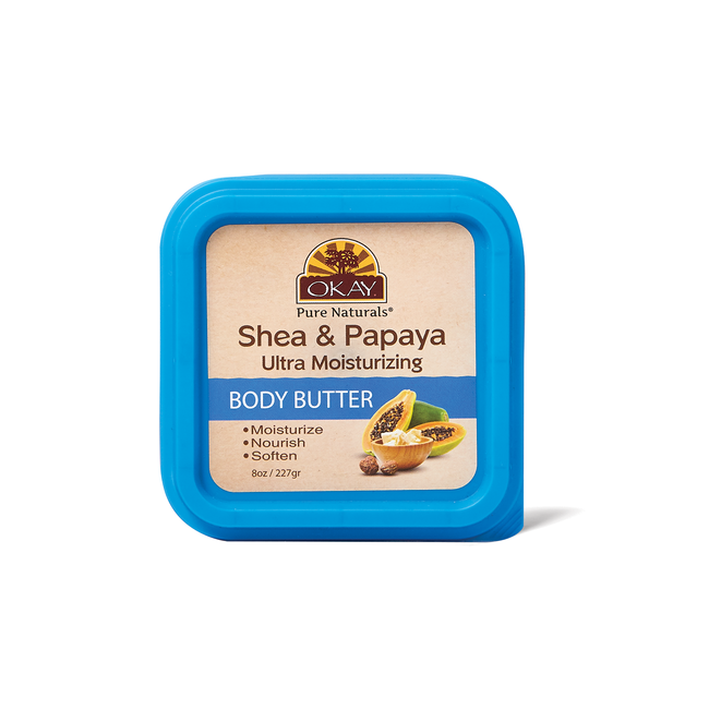 Shea & Papaya Body Butter 8 Oz