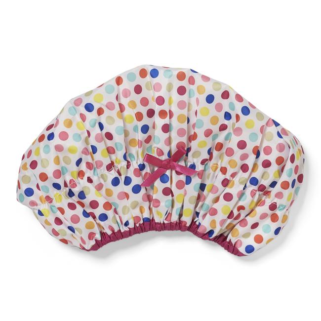 Deco Dots Shower Cap