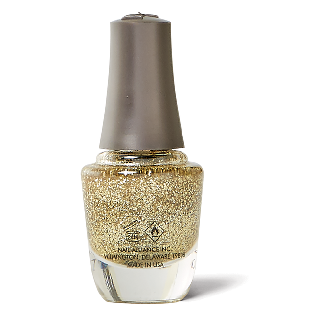 Mini Nail Lacquer Glitter & Gold