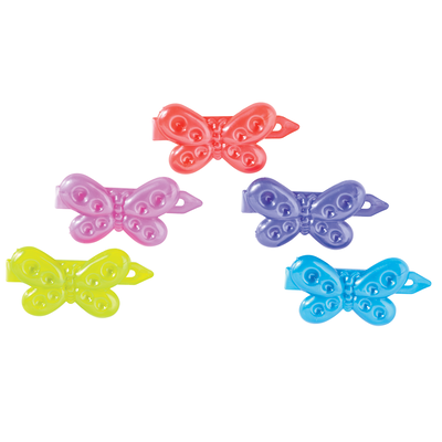 Children's Butterfly Barrettes