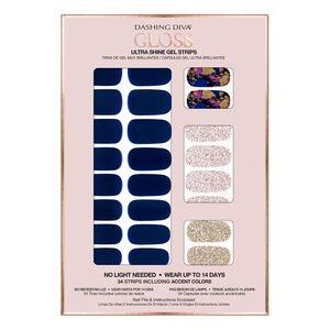 Shine Gel Strips Blue Beauty